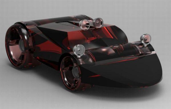Transparent all terrain car