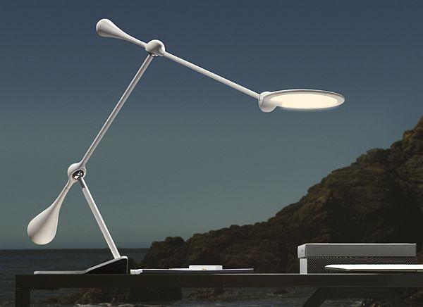 trapeze lamp