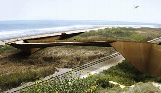 trestles beach footbridge 02