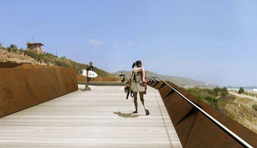 trestles beach footbridge 04