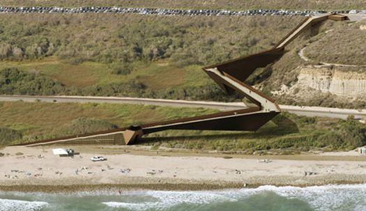 trestles beach footbridge 06