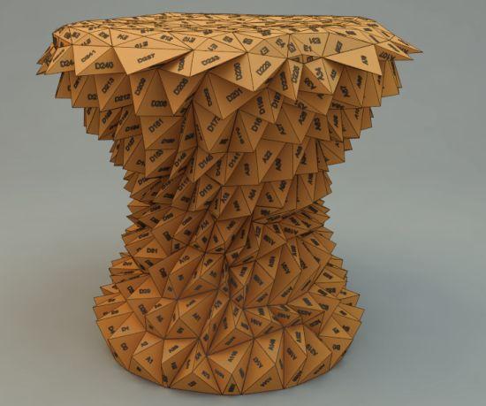 triangles stool 05