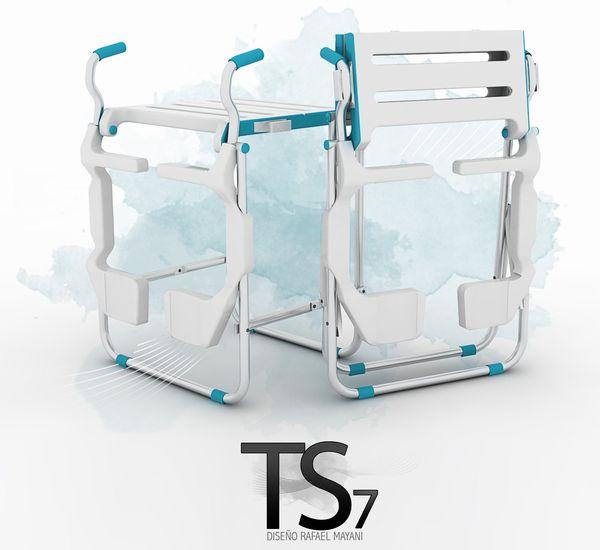 TS7 BATHING BENCH