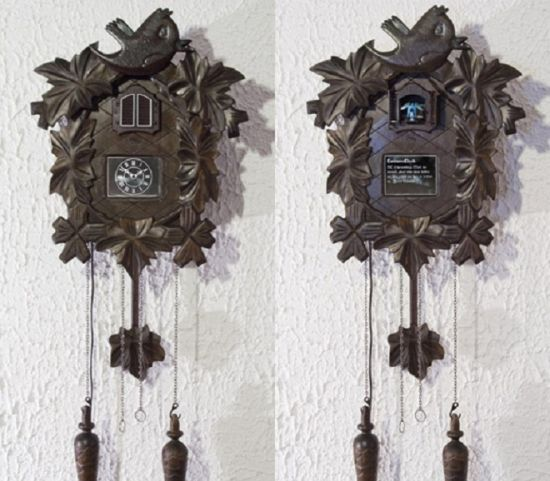 twitter enhanced cuckoo clock