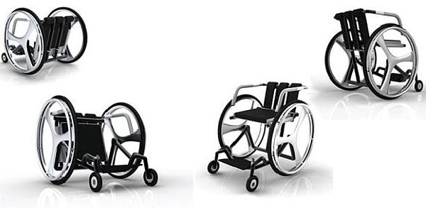 Carbon fiber wheelchair designs to strengthen mobility for the