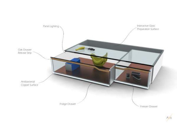 ui drawer fridge