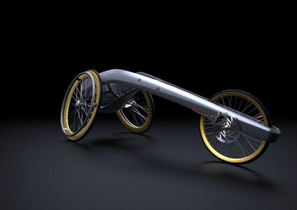 Ultra Long Distance Wheelchair