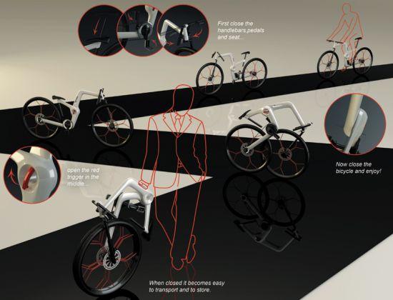 unfold portable folding bike 04