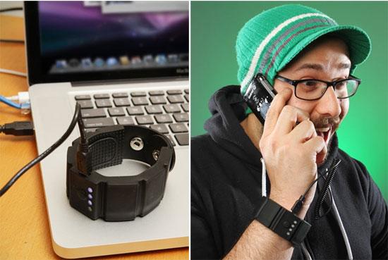 universal gadget wrist charger