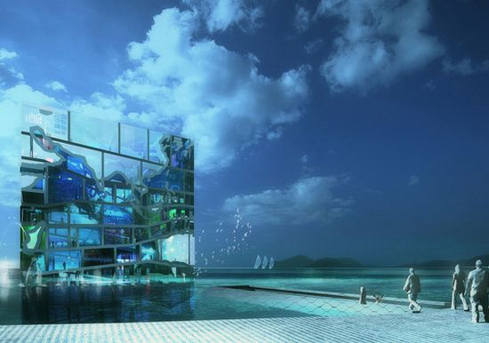 unveils water cube pavilion 01
