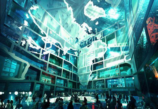 unveils water cube pavilion 02