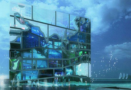 unveils water cube pavilion 03