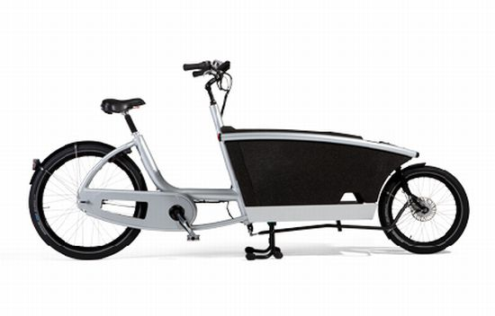 urban arrow transport bike eases pressure with electric. Black Bedroom Furniture Sets. Home Design Ideas