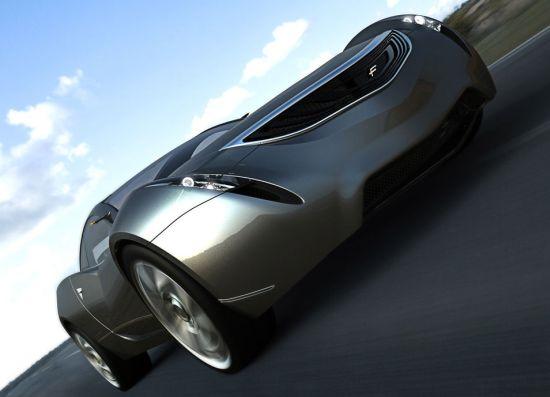 v concept car
