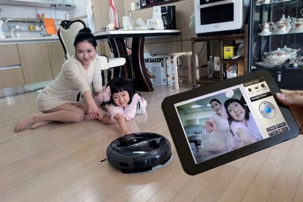 vacuum surveillance camera