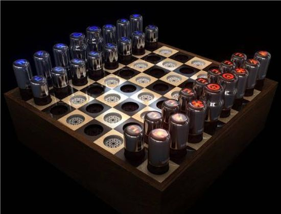 vacuum tube chess set 01
