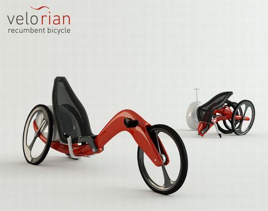 Bikes Recumbent Trike Velorian Recumbent Trike