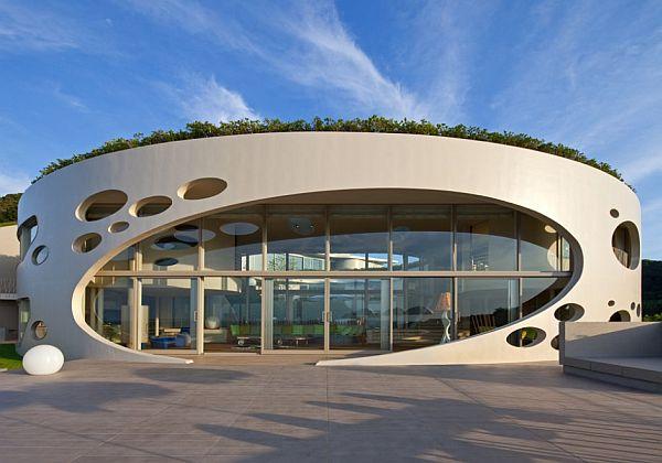 villa ronde by ciel rouge creation