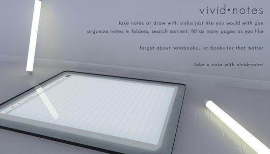 vividnotes multitouch tablet 03 lsdbk 58