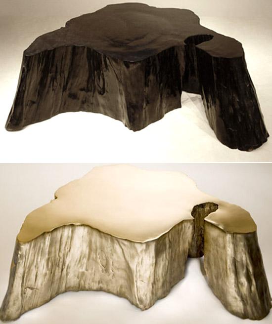 volcano coffee table