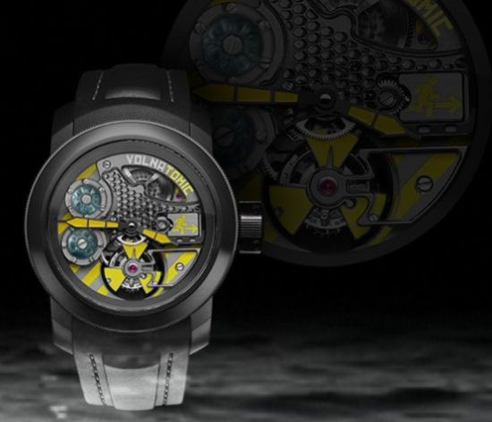 volnatomic liquid tourbillon