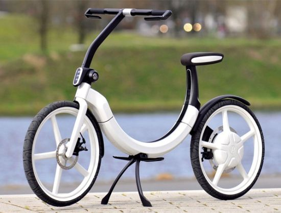 vw folding electric bike