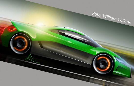 vw solar powered supercar concept 02