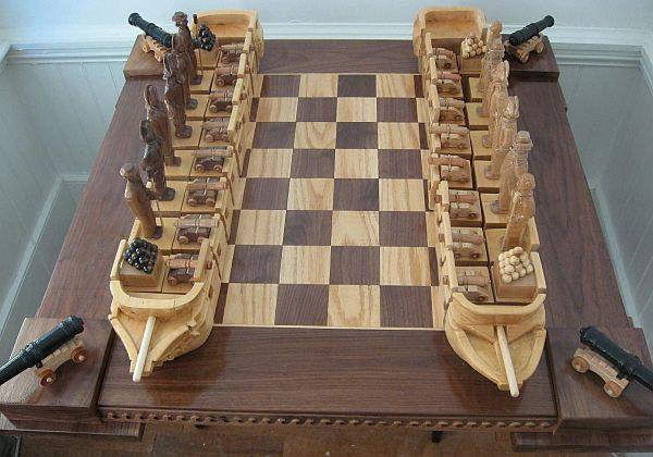 war of 1812 chess set  01
