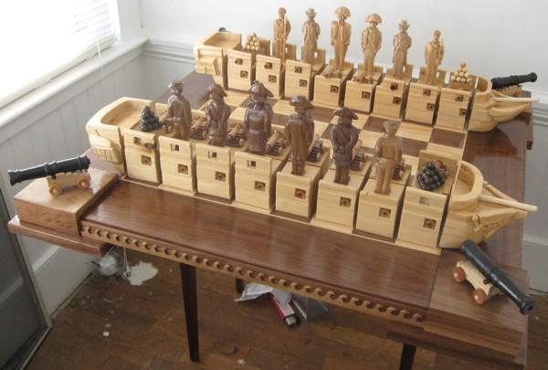 war of 1812 chess set  02