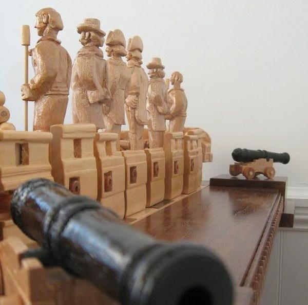 war of 1812 chess set  04