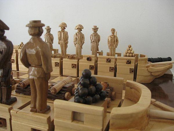 war of 1812 chess set  05