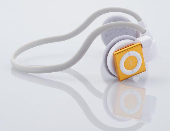wireless headphone for ipod shuffle