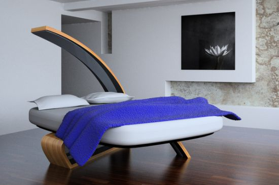 wooden bed 1