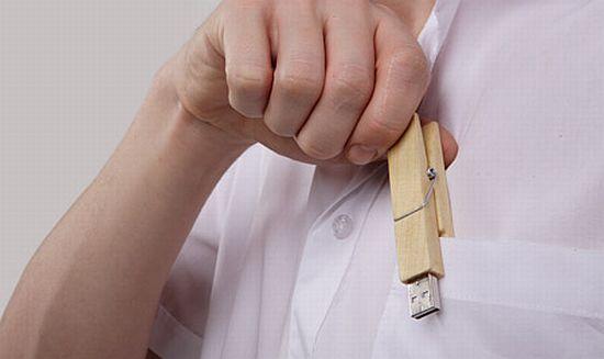 wooden clamp usb flash driver Q6BAf 58