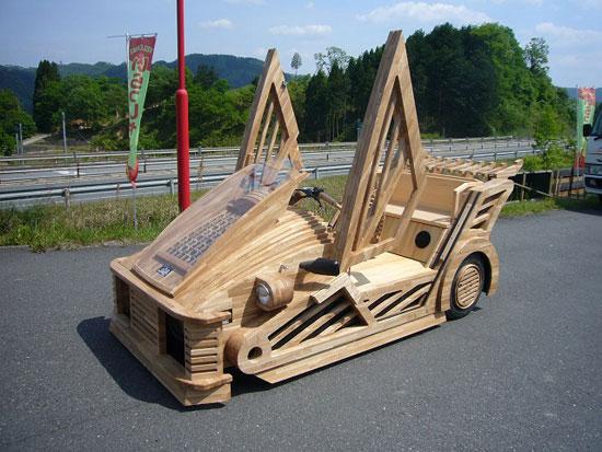 wooden sports car 01