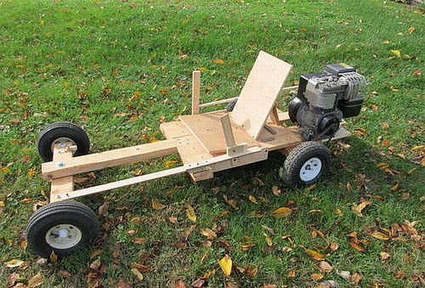 wooden go kart plans with engine