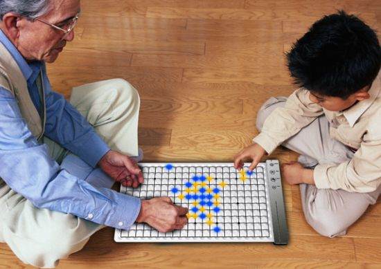 wu led chess set