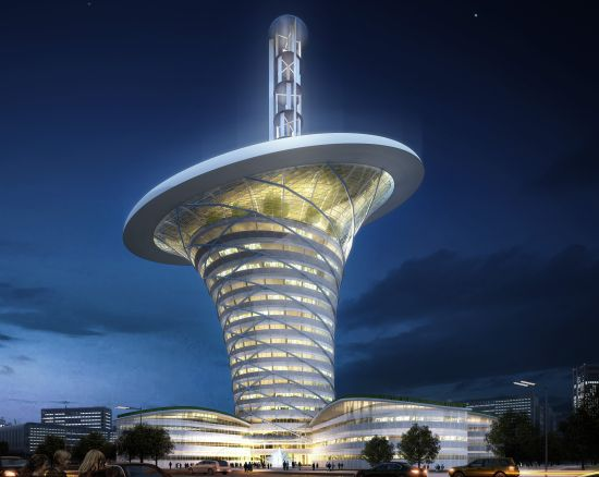 wuhan new energy centre wihan energy flower 2