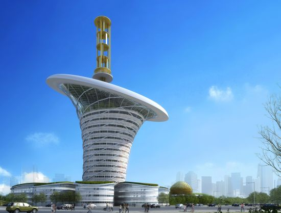 wuhan new energy centre wihan energy flower 4