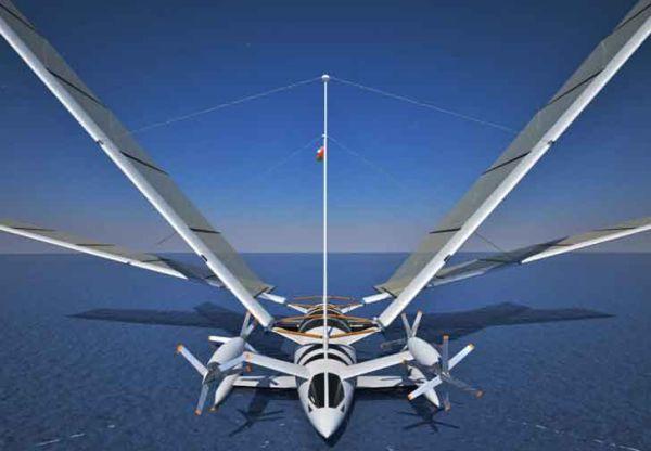 Yelken Octuri's Wind Powered Yacht