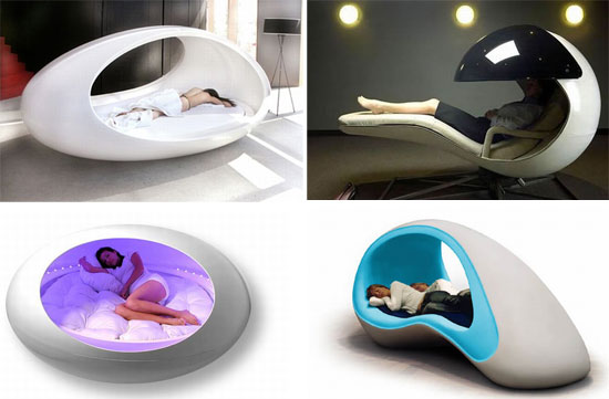Energy Pod coolest sleeping pods for some serious napping job - designbuzz