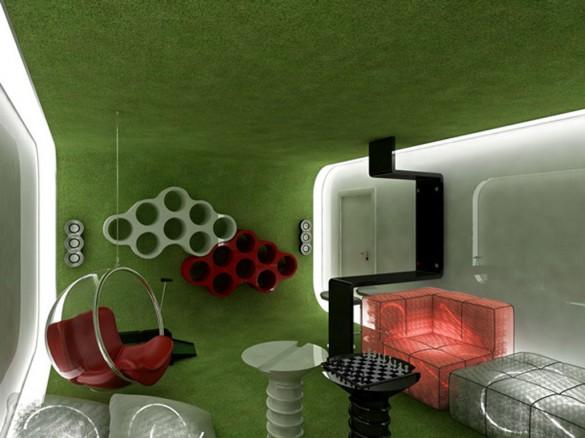Innovative-Green-Interior-Design-for-Stylish-Living-Room ...