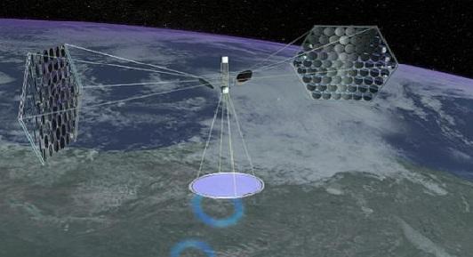 Orbiting-Solar-Panel