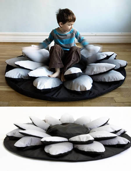 Lotus Flower Beanbag