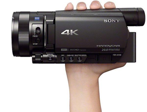 Sony-4K-Handycam-FDR-AX100