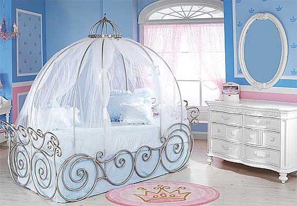 Cinderella-Coach-Bed-1-Cute-Design-For-Kids