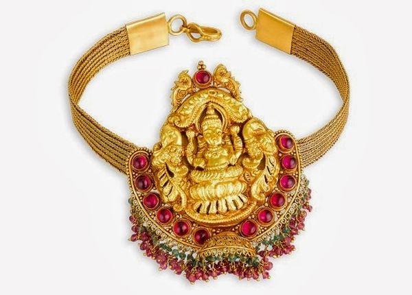Gold-Lakshmi-Armlet