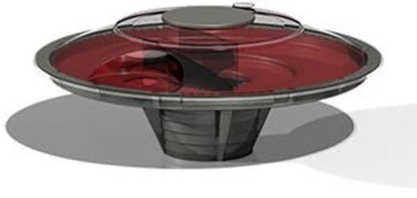 UFO toilet