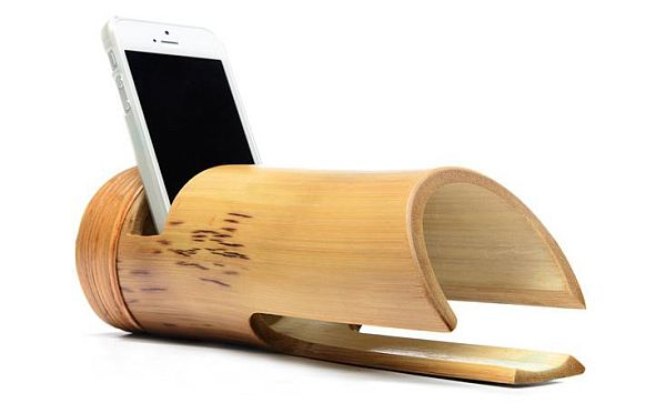 Bamboo iPhone Amplifier_2