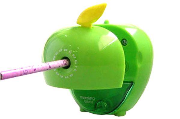 Apple pencil sharpener
